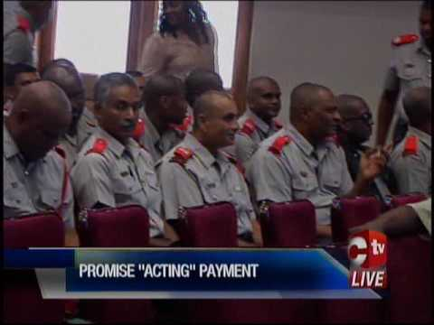 Fire Officers Receive Letters Of Promotion