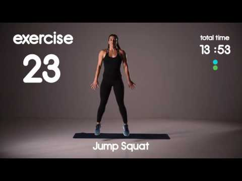 20 min HIIT Workout for Inner Thighs, Glutes and Fat Loss - 60s/30s