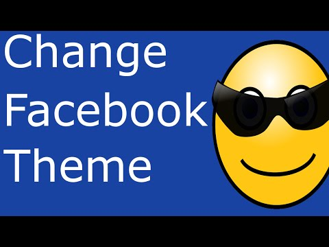 Changing Facebook theme in Google Chrome - Change Facebook theme : Change Facebook Background