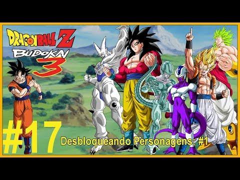 Dragon Ball Z Budokai 3 #17  Desbloqueando Personagens: #1