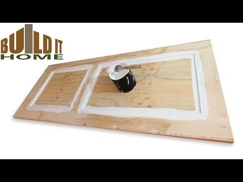 How To Paint A Panel Door
