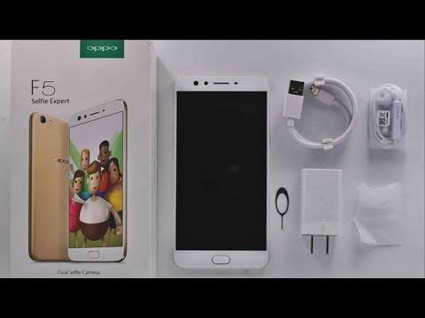 oppo F5 Unboxing & review