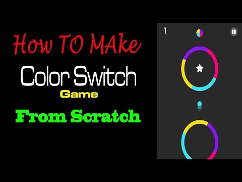 Make a Game ColorSwitch on Unity 3D 🎮
