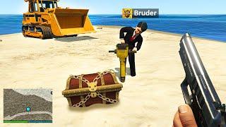 KLEINER BRUDER findet einen SCHATZ in GTA 5 RP!