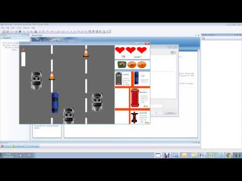 How to make a car race in visual basic part 1 (Car movement)