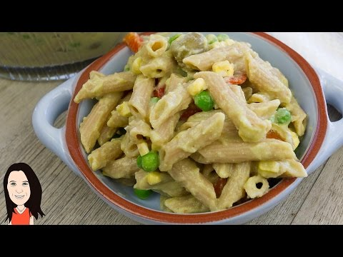 Creamy Vegan Pasta Salad - HCLF No Oil!
