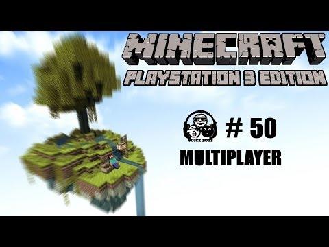 MINECRAFT PS3 EDITION [#50] ▶ Multiplayer zum kleinen Jubiläum [Deutsch] [HD]