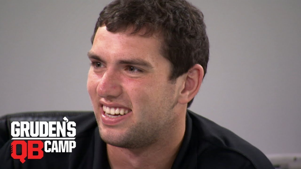 Andrew Luck goes through Gruden's QB Camp (2012) | ESPN Archive