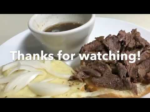 Instant Pot Roast Beef Sandwich