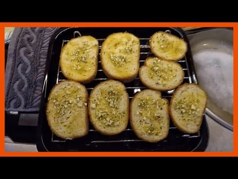 How to Make Garlic Bread with Olive Oil | Simple Garlic Bread Recipe