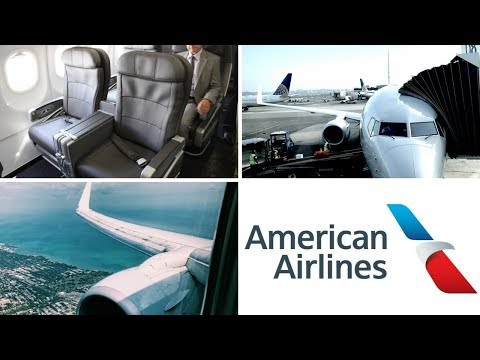 American Airlines 737-800 New York (LGA) - Chicago (ORD) Business Class AA328