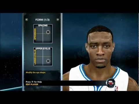 NBA 2K12 - How To Create Young Tracy McGrady