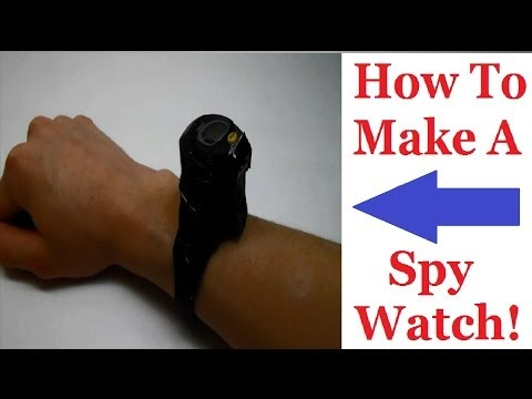 How To Make A Spy Watch (You Can Store You're Stuff In)