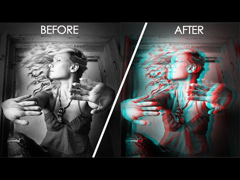 3D Effect Photoshop Tutorial - Learn Photoshop from Scratch!