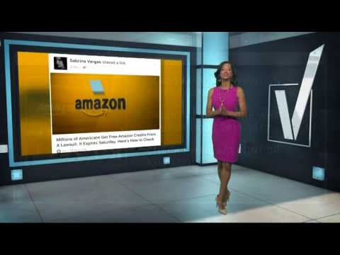 VERIFY: Do you have free credits with Amazon?