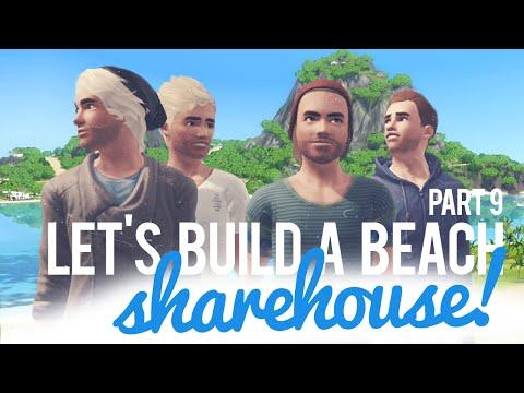The Sims 3 Let's Build a Share Beach House — Part 9