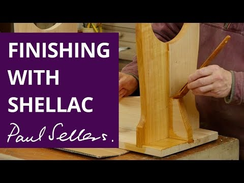 Finishing with Shellac | Paul Sellers