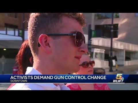 Activists demand gun control change