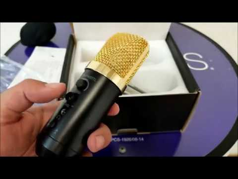 Archeer Cardioid Studio Condenser Microphone for PC iPhone Laptop Tablet Mac, iOS Android Windows