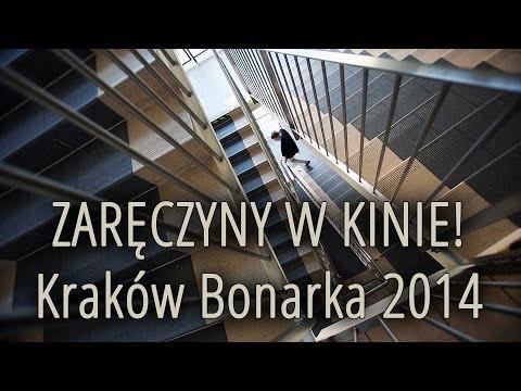 Zaręczyny w kinie - Kraków Bonarka 2014 - Marriage Proposal in the cinema