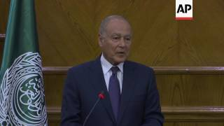 Jordan's FM meets Arab League chief