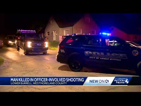 Man killed in officer-involved shooting in Lower Burrell