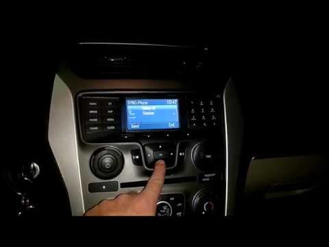 Pair Buetooth Phone to 2013 Ford Explorer Radio with Motorola Z Force. Android OS.
