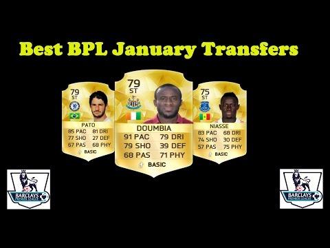 Best BPL January Transfers Fifa 16 ultimate team