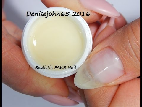REAListically FAKE Natural Nails --OMG They look REAL !----GEL FOR SALE NOW --