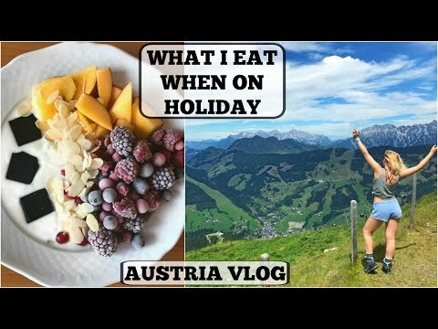 WHAT I EAT IN A DAY ON HOLIDAY || Intuitive Eating || AUSTRIA