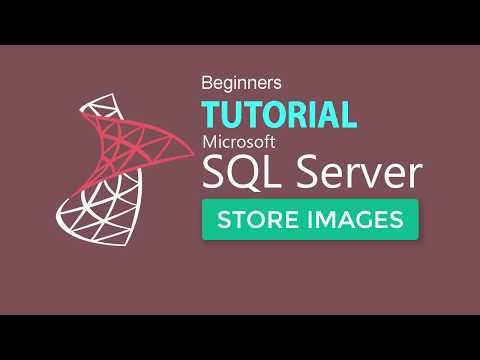 SQL SERVER 2017 TUTORIAL 11 : Store Image Files In SQL Database