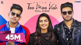Tera Mera Viah : PRIYA (Full Song) Jass Manak   Rav Dhillon   MixSingh   GK DIGITAL   Geet MP3