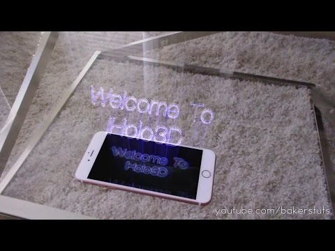 iPhone 8 Plus Virtual Reality Hologram App Demo