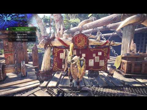 How To Play With Friends In Monster Hunter World