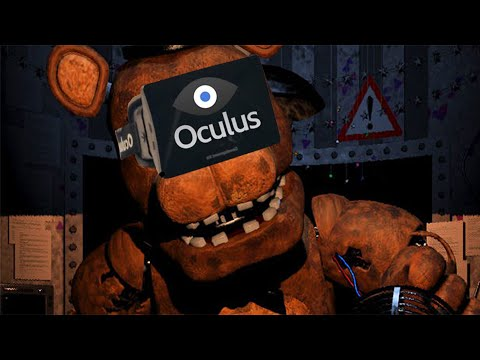 Five Nights at Freddy's 2 with OCULUS RIFT (SCARIEST THING EVER)