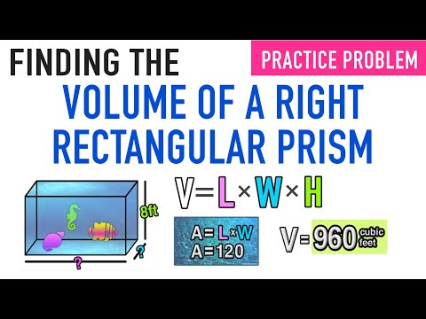 ✪ Volume of a Right Rectangular Prism | 5th Grade Common Core Math
