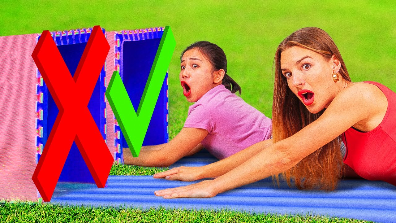 DON'T CHOOSE THE WRONG MYSTERY BOX||Water Slide Into Right Box! Try Not To Laugh By 123 GO!CHALLENGE