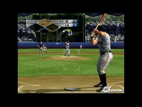 MVP Baseball 2005 GameCube Gameplay - All in the wrist.