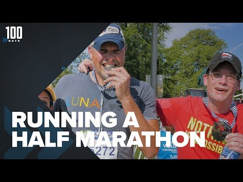 Running My First Half Marathon | 100 Days