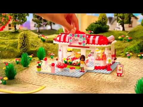 Heartlake City - Cafe, Beauty Shop, ... - Lego Friends - TV Toy Commercial - TV Spot - TV Ad