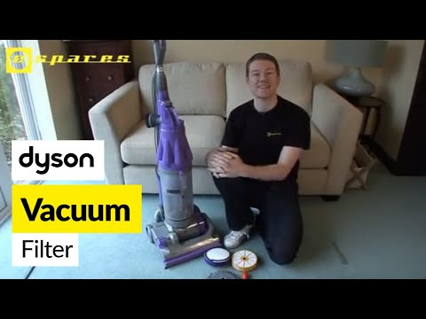 How to replace Dyson filters on a Dyson DC07 vacuum cleaner