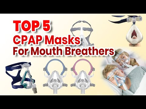 Top 5 CPAP Masks for Mouth Breathers in 2018