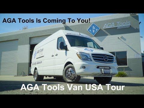 AGA Tools Van USA Tour