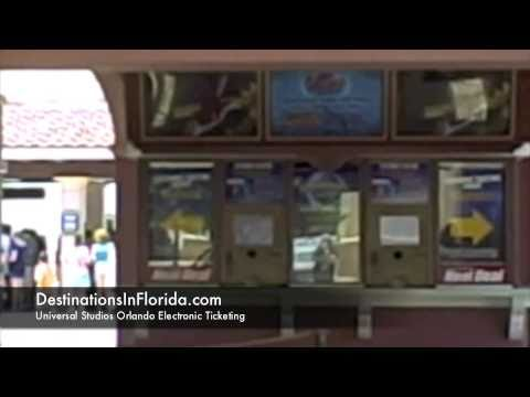 Universal Studios Orlando Ticket Pick-Up
