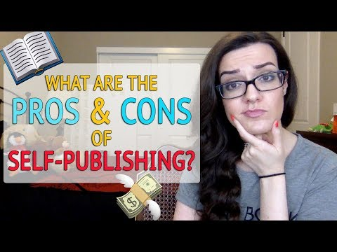 Self Publishing a Book: What are the Pros and Cons?