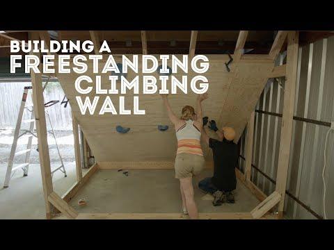 Building a Freestanding Climbing Wall