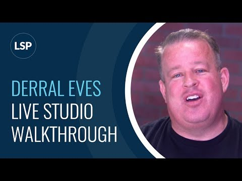Time to Geek Out with Derral Eves' Level 4 LIVE Video Studio!