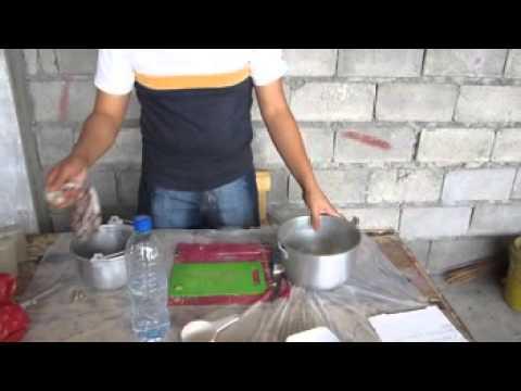 production process BANANA VINEGAR