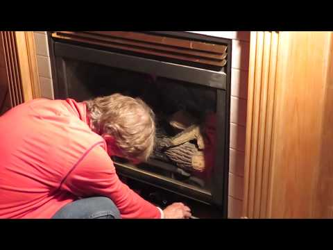 Obadiah's: Gas Fireplace Troubleshooting - How To Disassemble a Direct Vent Fireplace Pt 1