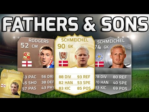 FIFA 15 - FATHERS AND SONS!!! - Team Of Players With Football Fathers/Sons!